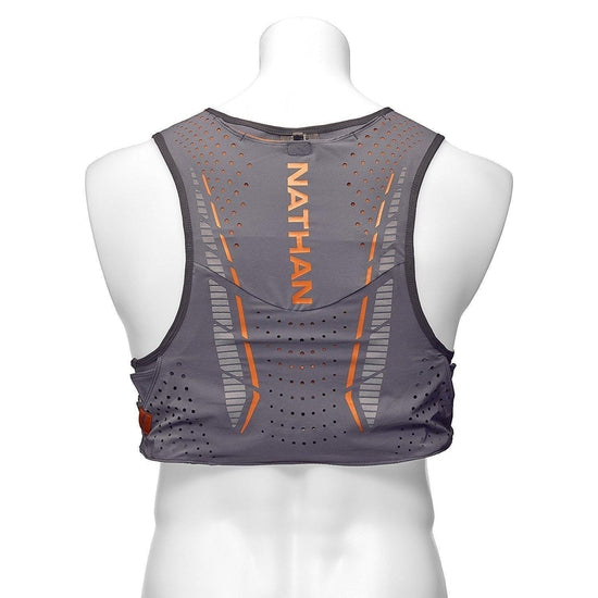 Nathan Vaporkrar Hydration Pack Running Vest, Includes two 12oz Flasks with Extended Straws, Compatible with 1.8L Reservoir Bladder, Men's - [variant_title]