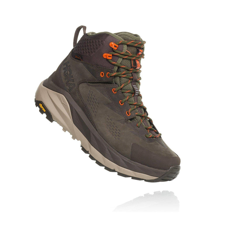 Hoka One One Sky Kaha Men's Hiking Boot - Black Olive/Green / 11.5