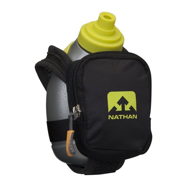 Nathan Quick Shot Plus Handheld Hydration Pack - Black