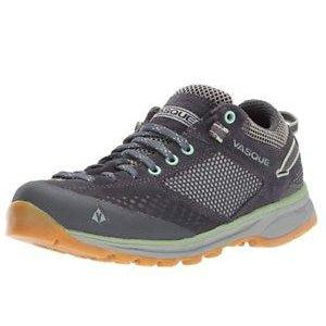 Vasque Women's Grand Traverse Hiking Shoe - 10 / Ebony/Basil
