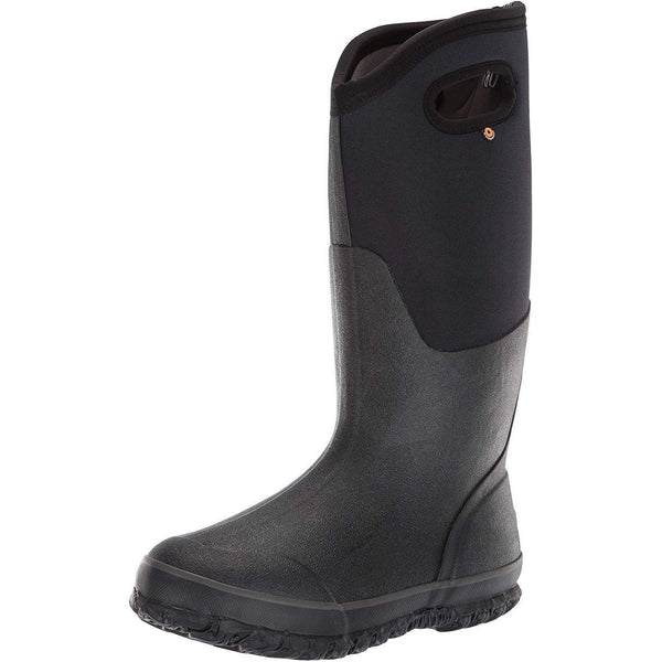 Bogs Women's Classic High Handle Waterproof Insulated Boot - Black / 10