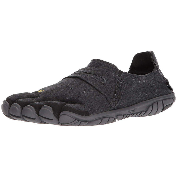 Vibram Five Fingers Men's CVT-Hemp Minimalist Casual Walking Shoe - Black / 40 EU/8-8.5
