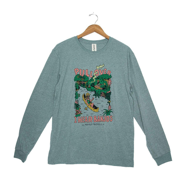 Fayettechill Men's L/S Moonshine Tee - Heather Verdigris / Large