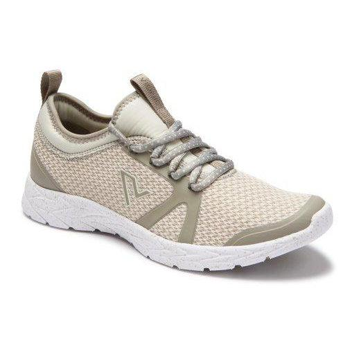 Vionic Women's Brisk Alma Lace-up Sneakers - 8 / ALUMINUM