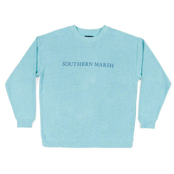 Southern Marsh Sunday Morning Sweater - Mint / X-Large