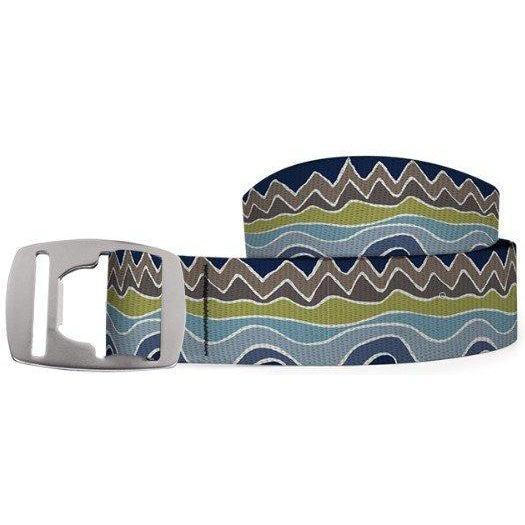 Croakies Belt - Peak to Prarie/Silver / OS