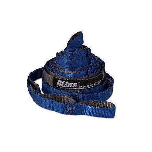 ENO Eagles Nest Outfitters - Atlas Chroma Straps, Hammock Suspension Straps - Royal/Charcoal