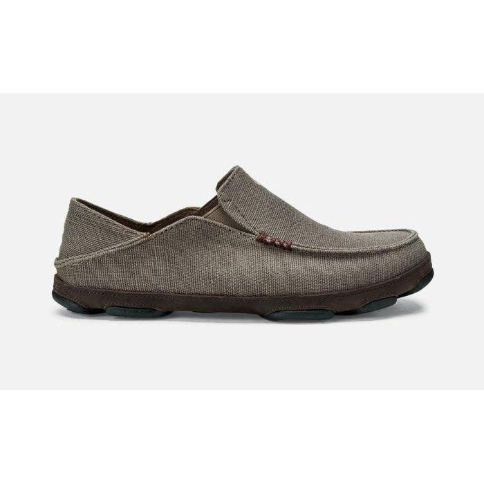 OluKai Men's Moloa Kapa Shoe - Mustang/Dark Wood / 9