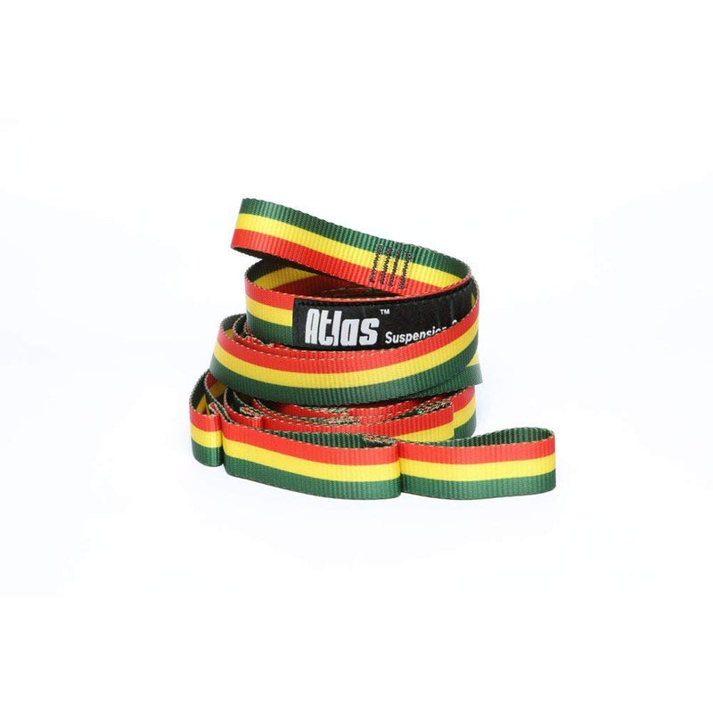 ENO Eagles Nest Outfitters - Atlas Chroma Straps, Hammock Suspension Straps - Rasta