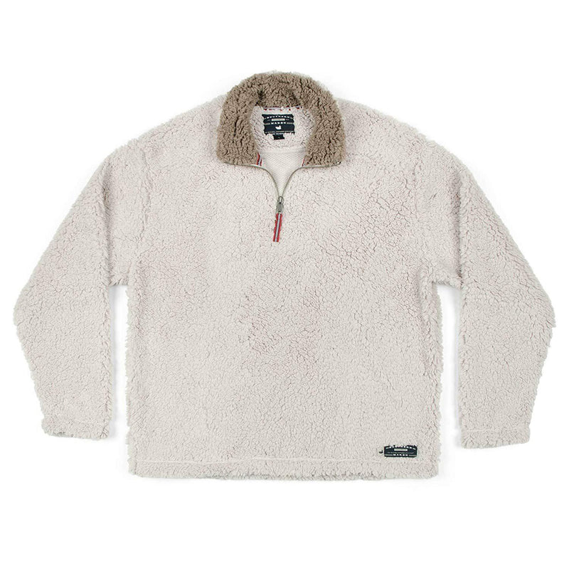 Southern Marsh Appalachian Pile Pullover - Oatmeal / Large