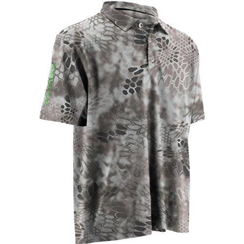 HUK Performance Fishing Men's Kryptek Icon Polo - H1200066yt1 - Kryptek Raid / Large