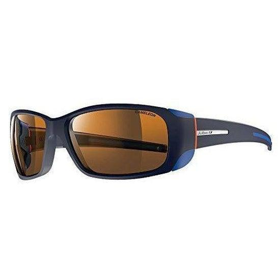 Julbo Montebianco Mountain Sunglass - Camel - Blue/Orange