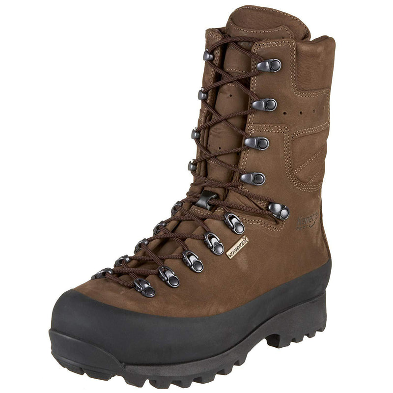 Kenetrek Men's Mountain Extreme Ni Hunting Boot - Brown / 10