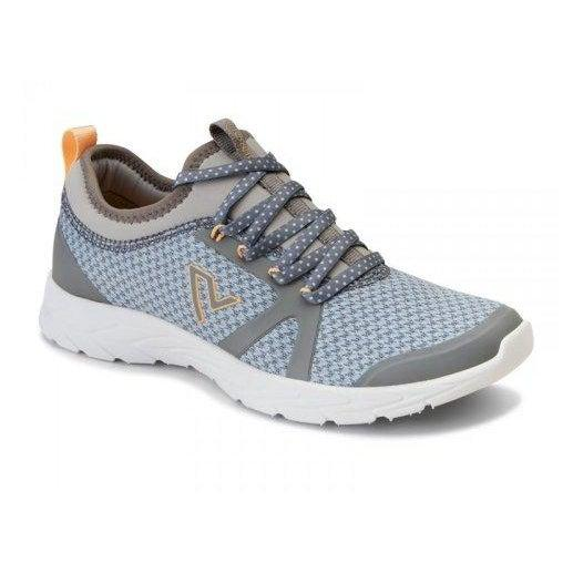 Vionic Women's Brisk Alma Lace-up Sneakers - 6.5 / GREY BLUE