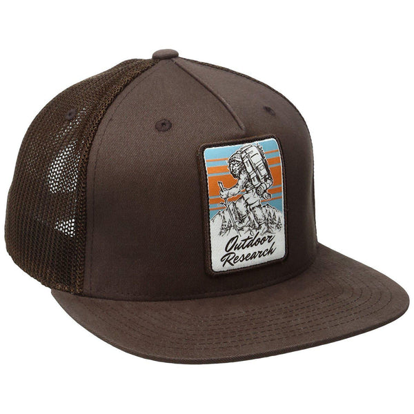 Outdoor Research Squat Chin' Trucker Cap - Earth / One Size
