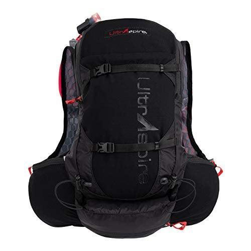 Ultraspire Zygos 4.0 Hydration Pack | 2L BPA & PVC Free Reservoir with Mag-Clip - Pitch Black / Medium