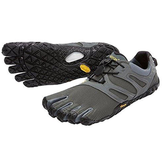 Vibram V Trail Five Fingers Shoe Men's - Dark Grey/Sage / 12.5