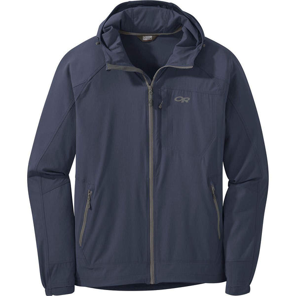 Outdoor Research Men's Ferrosi Hooded Jacket - Naval Blue / Large