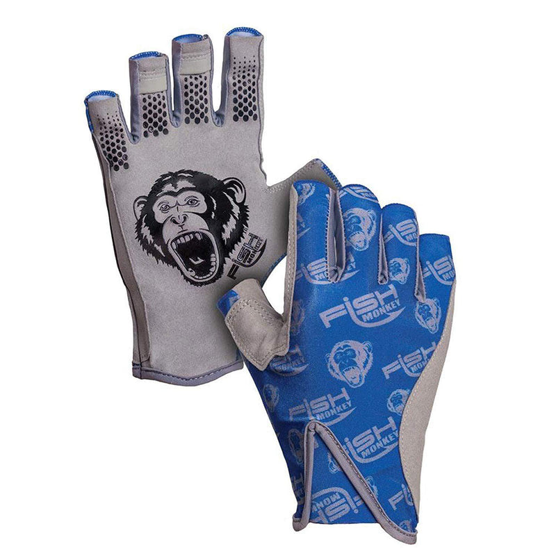 Fish Monkey Pro 365 Guide Glove - Royal Blue / Large