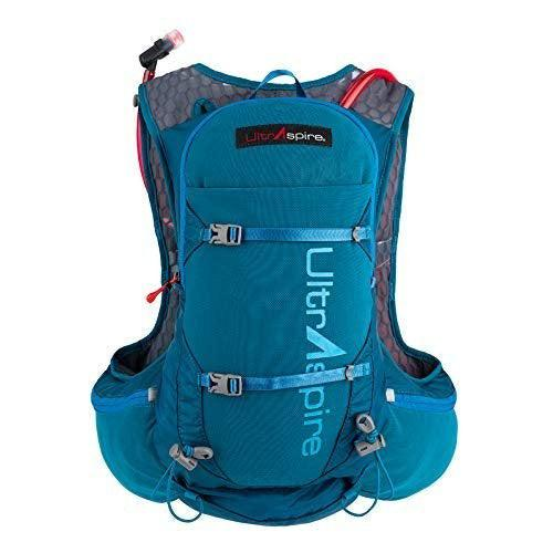 Ultraspire Zygos 4.0 Hydration Pack | 2L BPA & PVC Free Reservoir with Mag-Clip - Emerald Blue / Medium