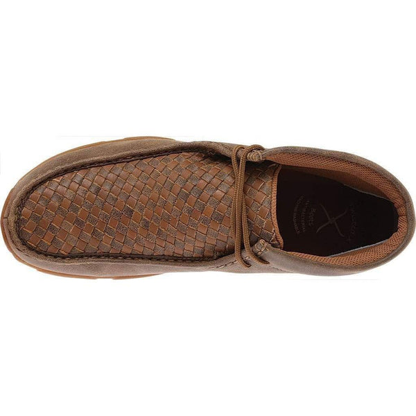 Twisted X Men's Checkerboard Driving Mocs - Mdm0033-Twisted X-GrivetOutdoors.com