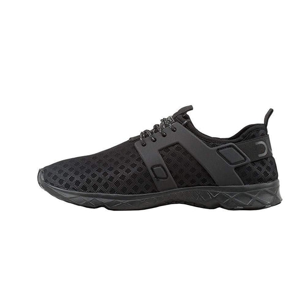 Hey Dude Mens Mistral Sneaker - Total Black / 12