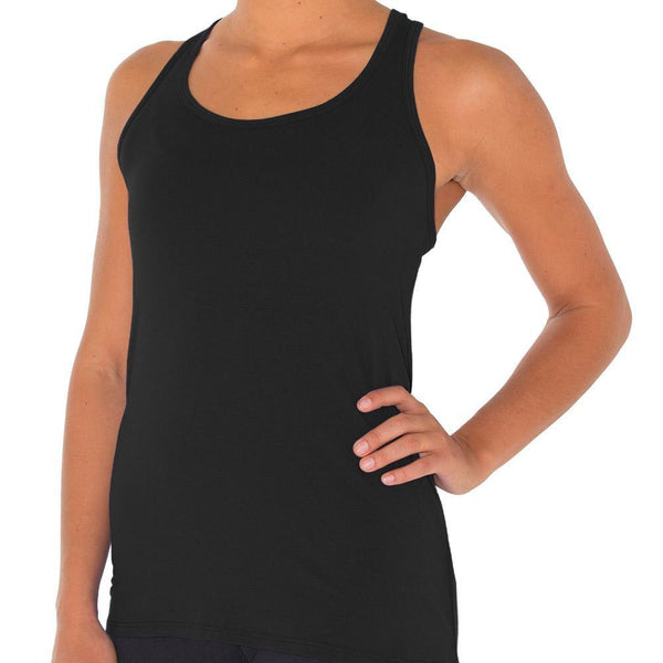 Free Fly Women's Bamboo Racerback - Black / Small