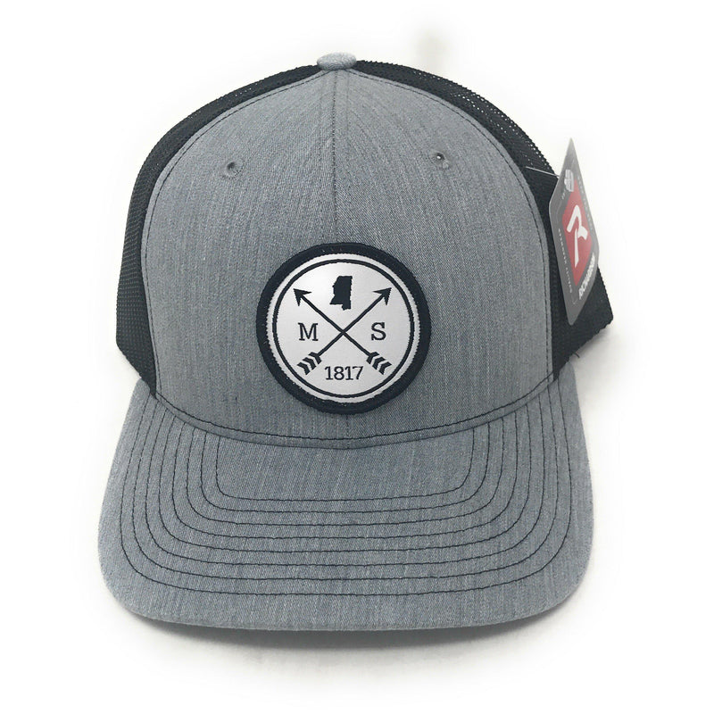 MS Woven Patch Mesh Trucker Hat-GrivetOutdoors.com-GrivetOutdoors.com