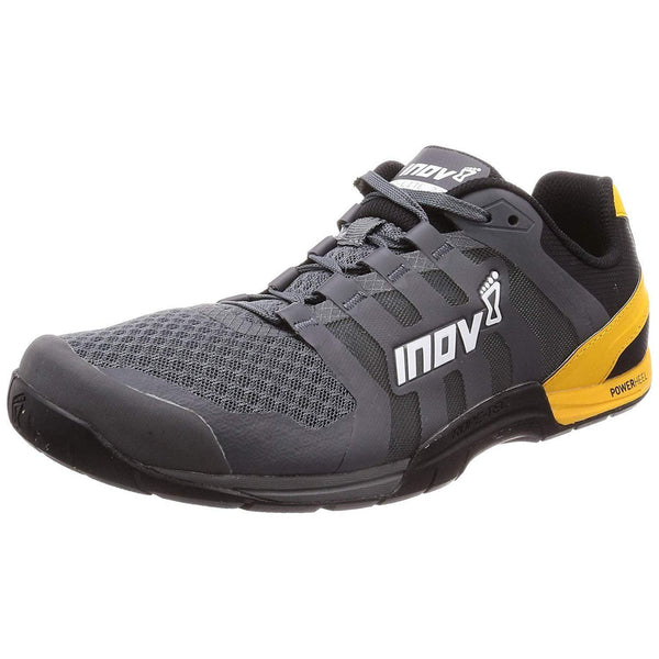 Inov-8 Men's F-Lite 235 V2 Cross-Trainer Shoe - 10.5 / Grey/Yellow