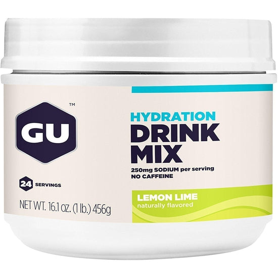 GU Hydration Drink Mix, Lemon Lime, 16.1 Ounce Canister-Grivet Outdoors