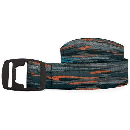 Croakies Belt - River Sunset/Black / OS