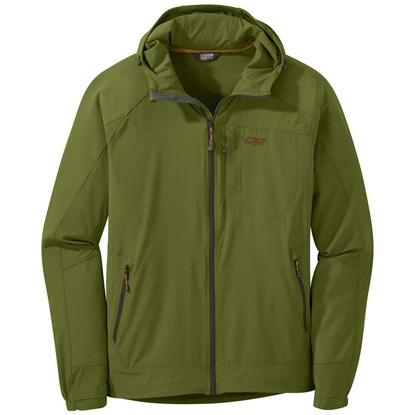 Outdoor Research Men's Ferrosi Hooded Jacket - Seaweed / Large