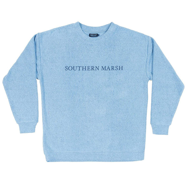 Southern Marsh Sunday Morning Sweater - French Blue / Large