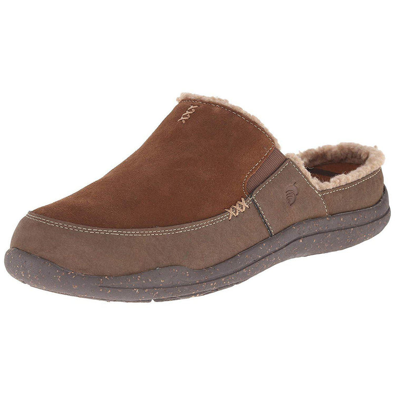 ACORN Men's Wearabout Slide with Firmcore Mule - Chocolate Suede / 10