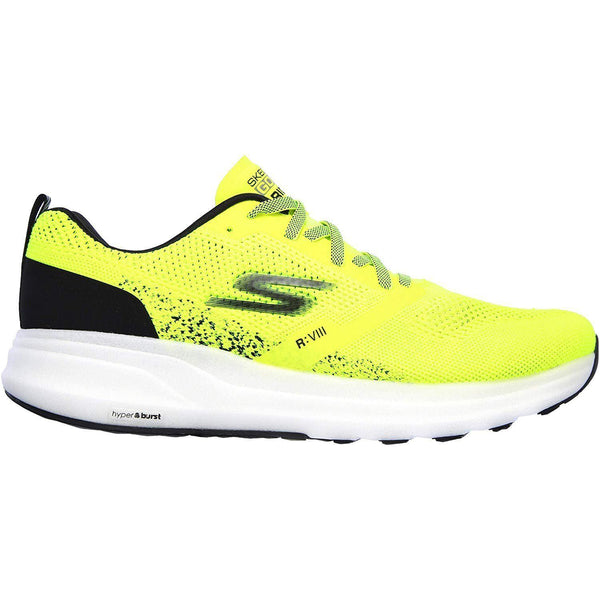 Skechers Men's Go Run Ride 8 Hyper - Yellow/Black / 13