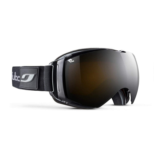 Julbo Airflux Snow Goggles Ultra Venting Superflow Technology No Fogging - GRV164047 / Spectron 4 - Black/Black