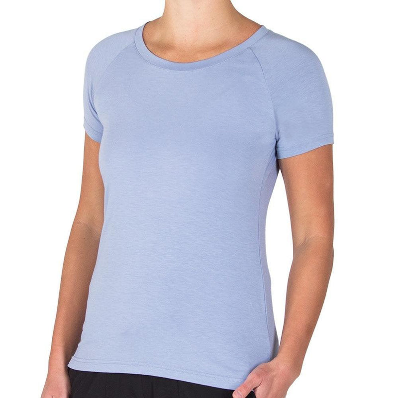 Free Fly Women's Bamboo Explorer Tee - Purple Dusk / Large