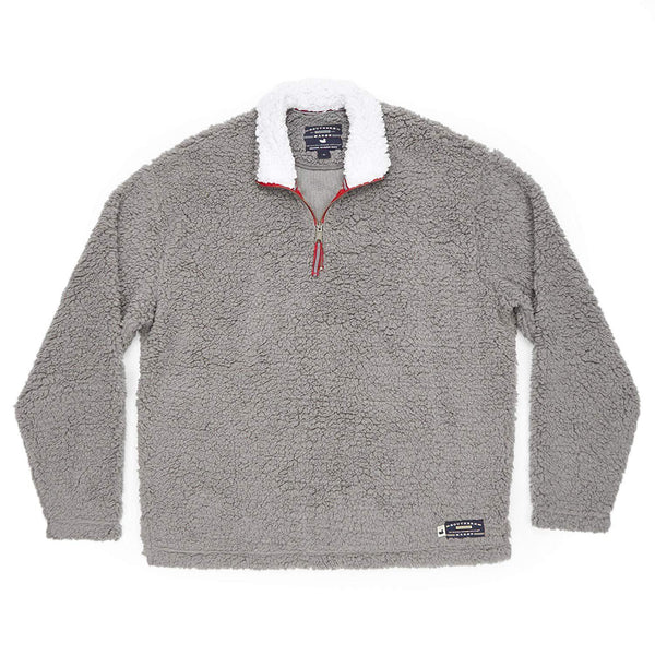 Southern Marsh Appalachian Pile Pullover - Burnt Taupe / Large