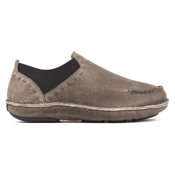 Tamarindo Boatslip Men's Leather Slip On Shoe - Sand - [variant_title]