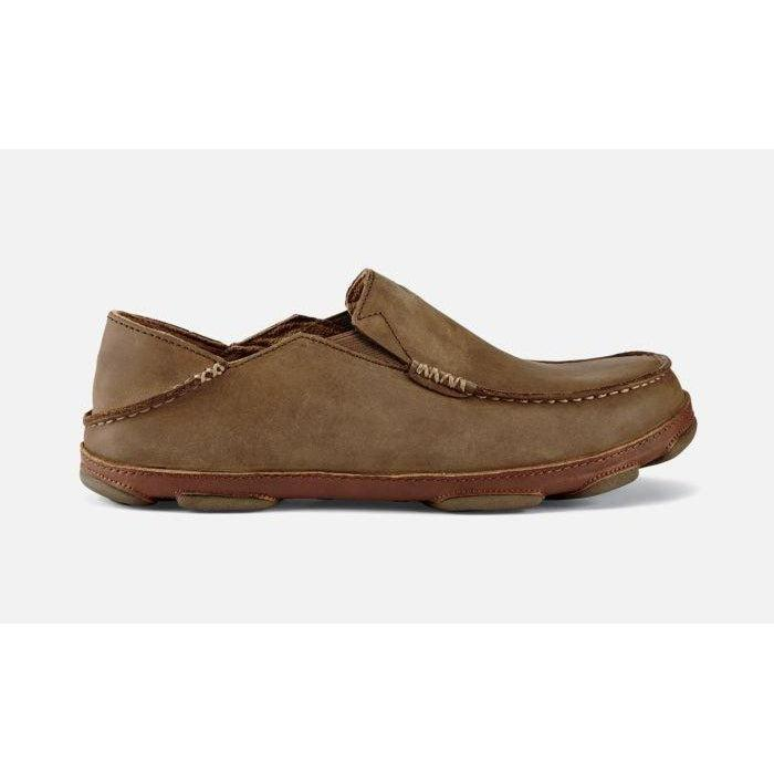 OluKai Men's Moloa Shoe - Ray/Toffee / 9