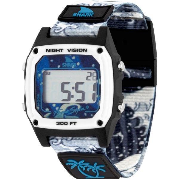 Freestyle Luke Davis Signature Series Shark Classic Clip Unisex Watch - White Wave