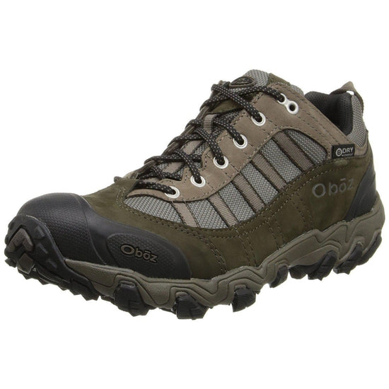Oboz Men's Tamarack BDry Hiking Shoe-Grivet Outdoors