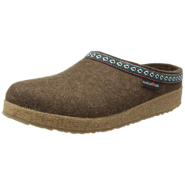 Haflinger GZ65 Classic Grizzly Clog - Chocolate / 10 Women / 8 Men