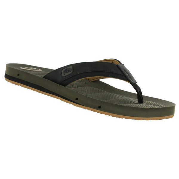 Cobian Men's Draino 2 Flip Flop - Olive - New for 2019 / 10