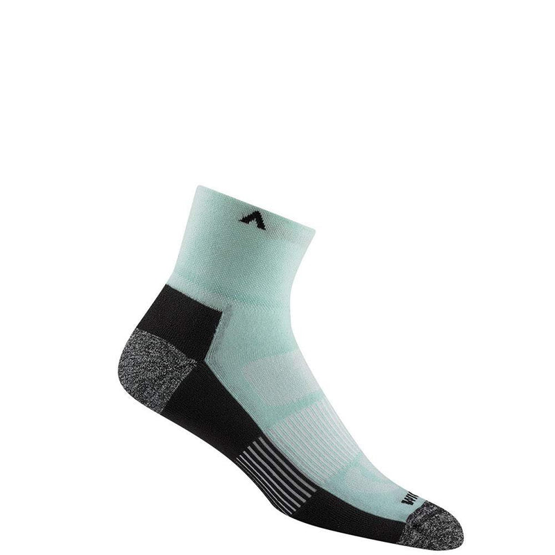 Wigwam Attain MidWeight Quarter F6236 Sock - Aqua / Medium