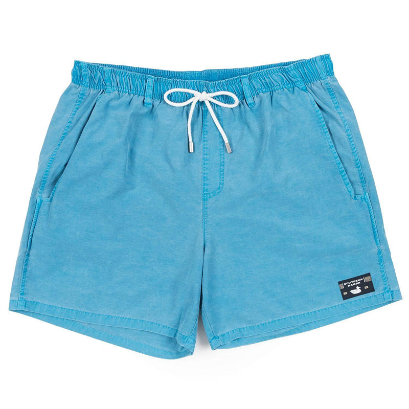 Southern Marsh Shoals Seawash Swim Trunk - Teal / Large