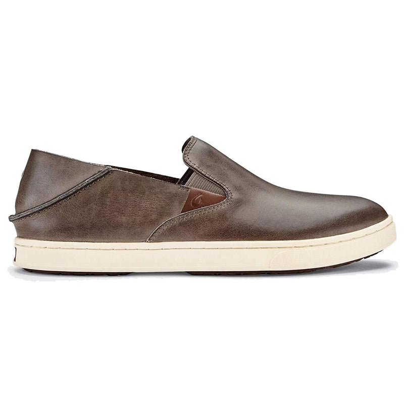 OluKai Women's Pehuea Leather Shoe - Espresso / 10