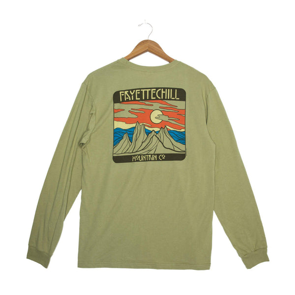 Fayettechill Bryn Mountains Long Sleeve Shirt - [variant_title]