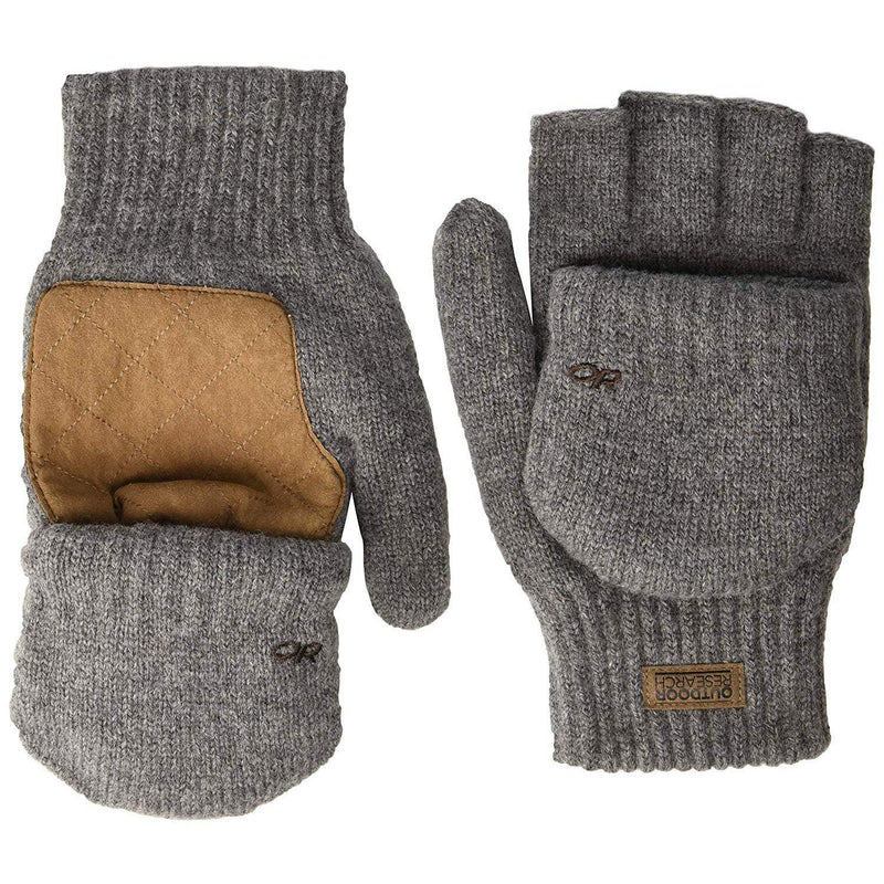 Outdoor Research Men's Lost Coast Mitts - Pewter / Large