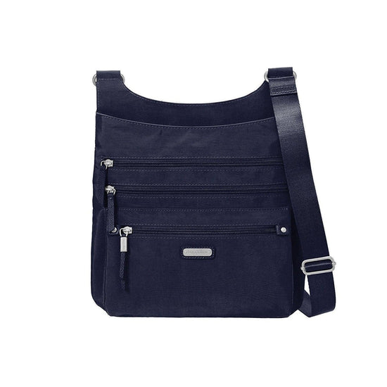 Baggallini Around Town Bagg with RFID Phone Wristlet - Navy